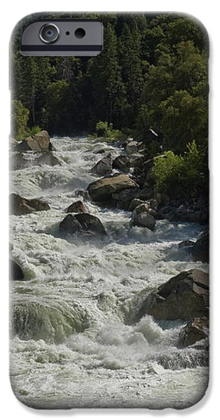 Merced River in Yosemite iPhone Case by Tim Mulina
