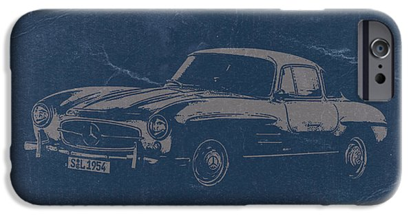 Concept iPhone Cases - Mercedes Benz 300 SL iPhone Case by Naxart Studio