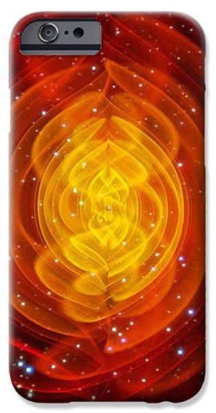 Merged Black Holes iPhone Case by Chris Henzenasa