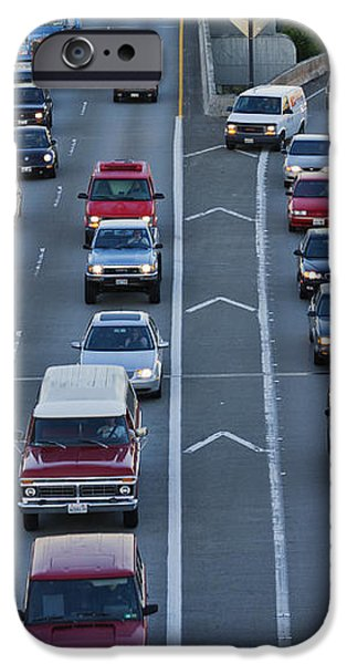 Merging Traffic iPhone Case by Jeremy Woodhouse
