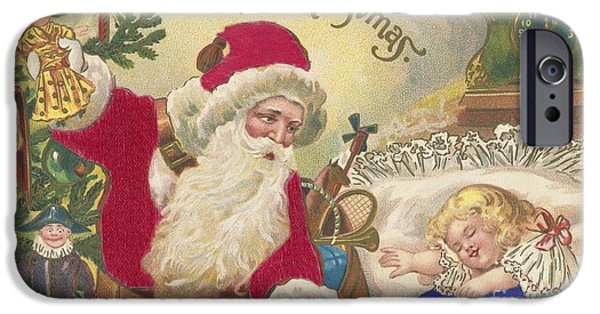 Christmas Eve iPhone Cases - Merry Christmas iPhone Case by American School