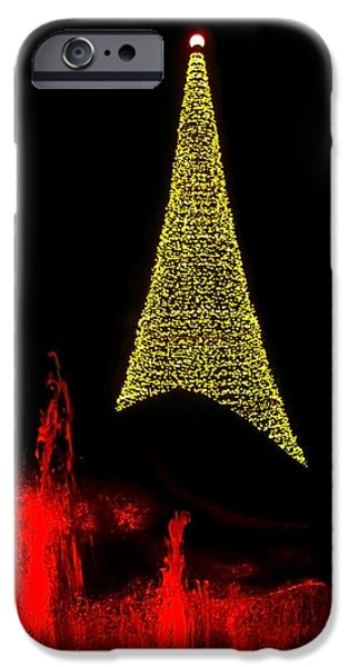 Merry Christmas ... iPhone Case by Juergen Weiss