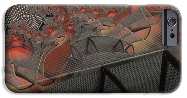 Basket iPhone Cases - Meshed iPhone Case by Ron Bissett