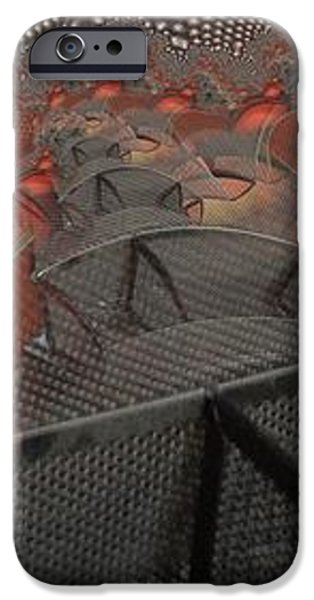 Meshed iPhone Case by Ron Bissett