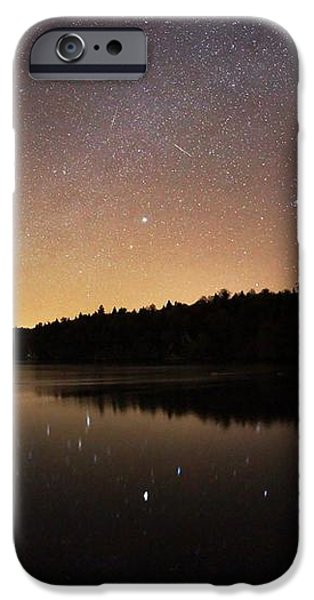 Meteor Shower iPhone Case by Laurent Laveder