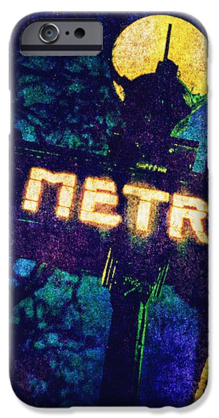 Useful iPhone Cases - Metro iPhone Case by Skip Nall