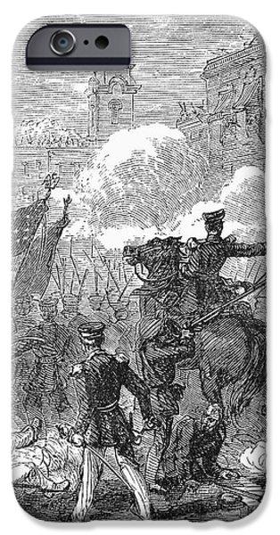 MEXICAN WAR: MONTERREY iPhone Case by Granger