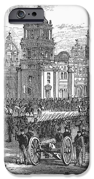 MEXICO CITY, 1847 iPhone Case by Granger