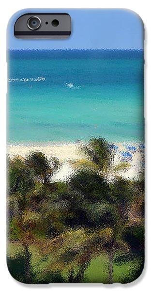 Miami Beach iPhone Case by Pravine Chester
