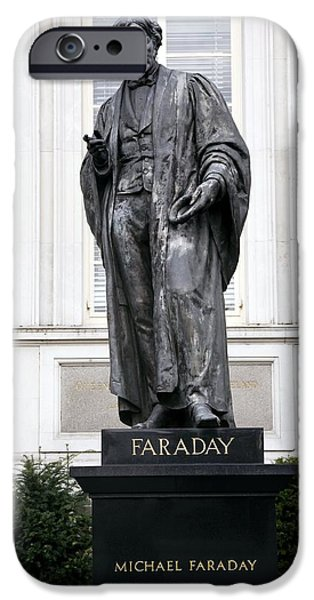 Michael Faraday, British Physicist iPhone Case by Sheila Terry