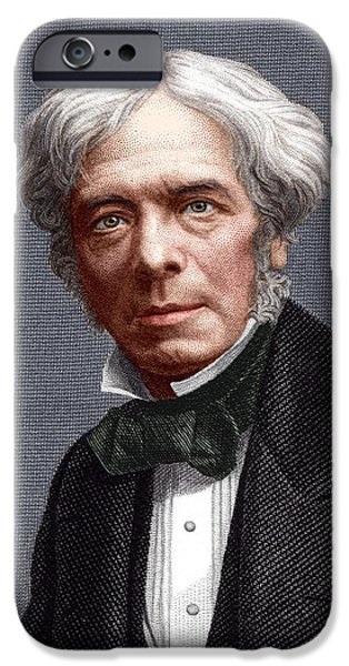 Michael Faraday, English Chemist iPhone Case by Sheila Terry