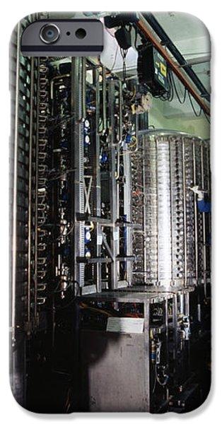 Microbe Fermentation Unit iPhone Case by Volker Steger