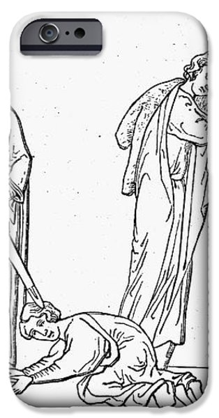 MIDDLE AGES: KNIGHTING iPhone Case by Granger