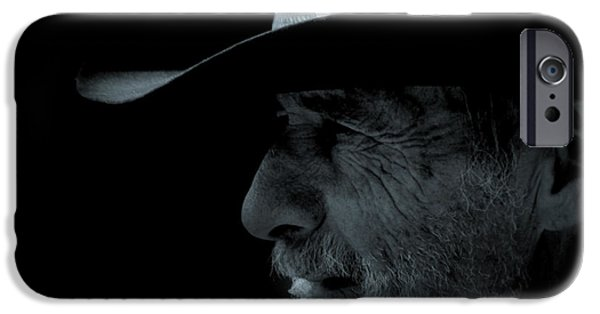 Handsome People iPhone Cases - Midnight Cowboy iPhone Case by Christine Till