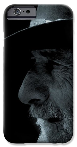 Midnight Cowboy iPhone Case by Christine Till