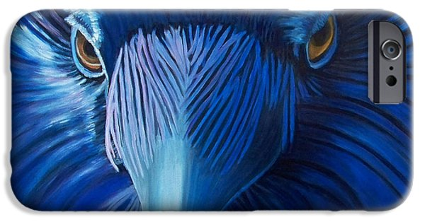 Corvid iPhone Cases - Midnight Magic iPhone Case by Brian  Commerford