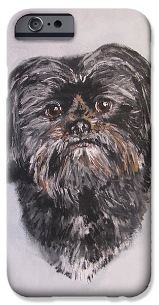 Jack Skinner iPhone Cases - Mikey iPhone Case by Jack Skinner