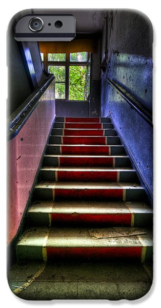 Military steps iPhone Case by Nathan Wright