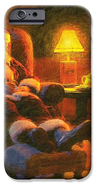 Milk and Cookiezzzzz iPhone Case by Greg Olsen