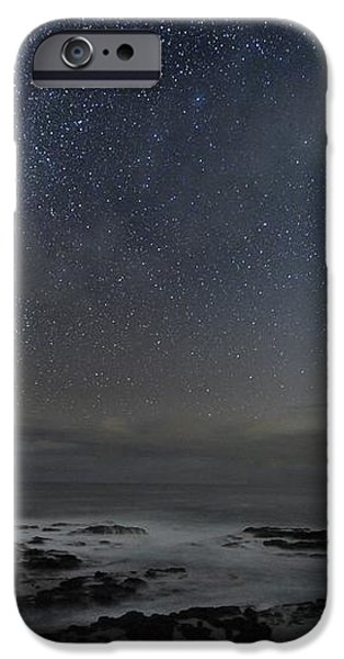 Milky Way Over Cape Schanck, Australia iPhone Case by Alex Cherney, Terrastro.com