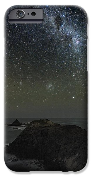 Milky Way Over Phillip Island, Australia iPhone Case by Alex Cherney, Terrastro.com