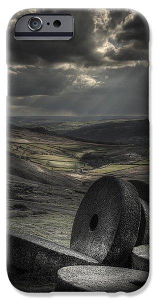Millstones iPhone Case by Andy Astbury