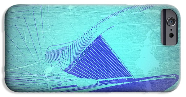 Modern Architecture iPhone Cases - Milwaukee Art Museum iPhone Case by Naxart Studio