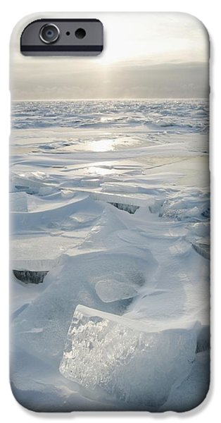 Design Pics - iPhone Cases - Minnesota, United States Of America Ice iPhone Case by Susan Dykstra