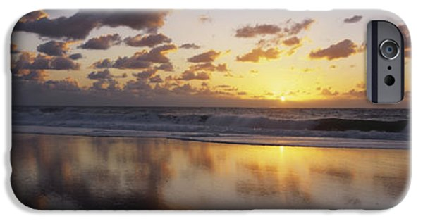 Baja iPhone Cases - Mirrored Mexico Sunset iPhone Case by Bill Schildge - Printscapes