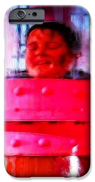Mistical Augustus iPhone Case by Paul Van Scott