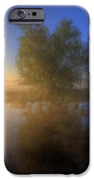 Misty Dawn 1.0 iPhone Case by Yhun Suarez