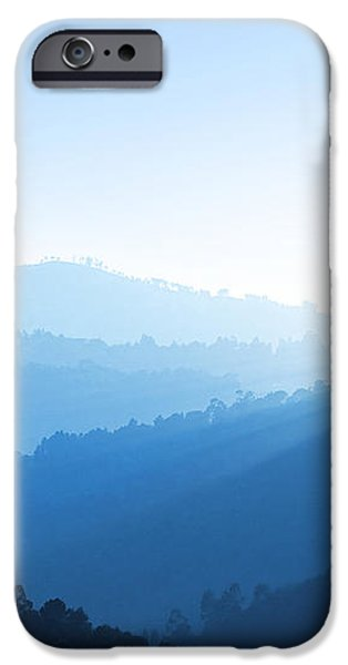 Misty Valley iPhone Case by Carlos Caetano