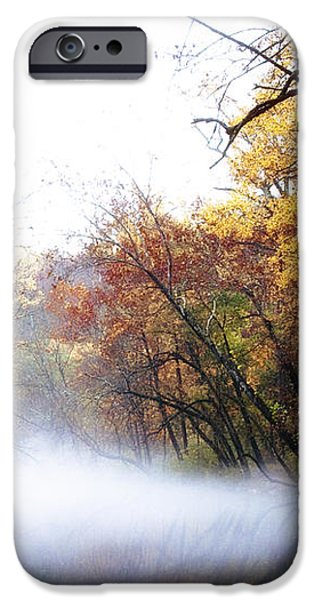Misty Wissahickon iPhone Case by Bill Cannon