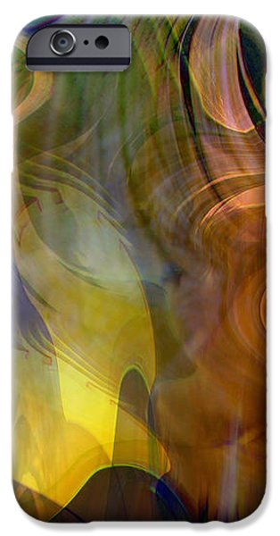 Mixed emotions iPhone Case by Linda Sannuti