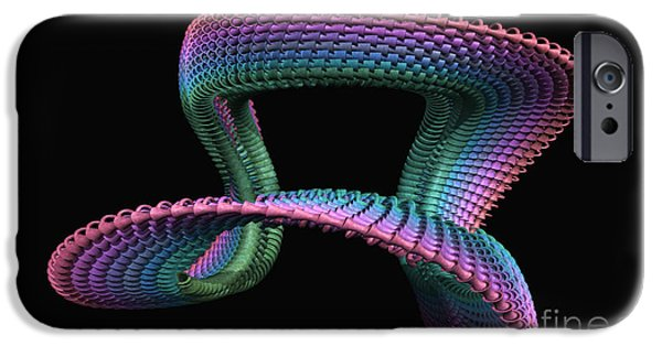 Mobius Strip iPhone Cases - Mobius iPhone Case by John Edwards