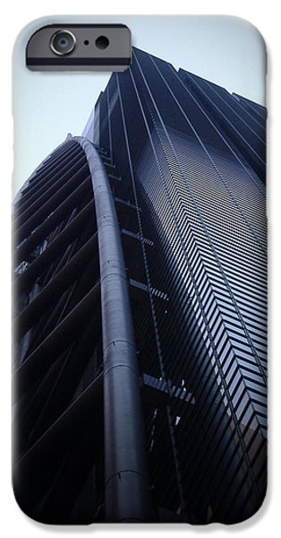 Tokyo iPhone Cases - Modern Building in Tokyo iPhone Case by Naxart Studio