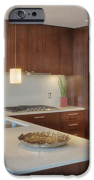 Modern Kitchen Interior iPhone Case by Andersen Ross