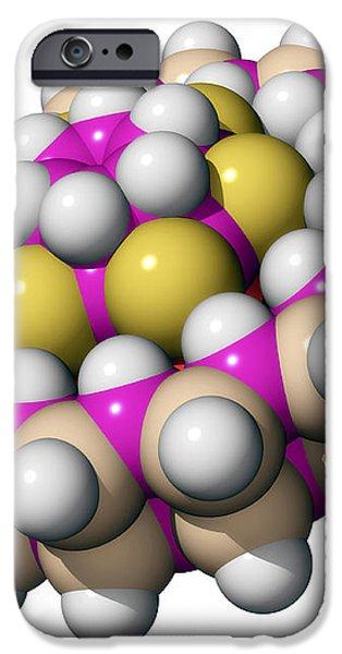 Molecular Bearing, Computer Model iPhone Case by Laguna Design