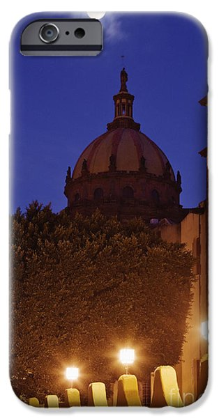 Building iPhone Cases - Monastery of Las Monjas with Full Moon iPhone Case by Jeremy Woodhouse