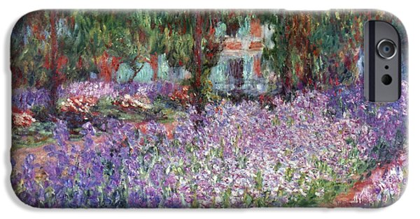 Aod iPhone Cases - Monet: Giverny, 1900 iPhone Case by Granger