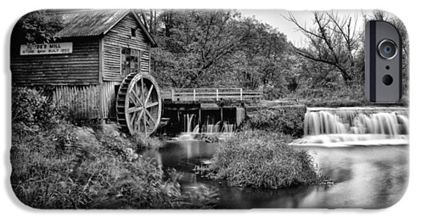 Historic Site iPhone Cases - Mono Mill iPhone Case by CJ Schmit