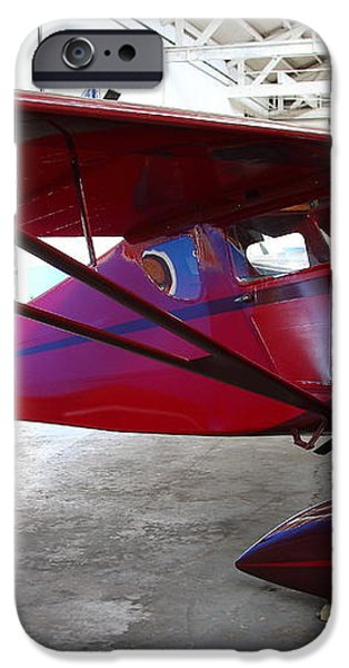 Monocoupe 110 . 7D11144 iPhone Case by Wingsdomain Art and Photography