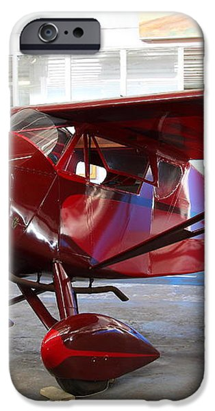 Monocoupe 110 . 7D11149 iPhone Case by Wingsdomain Art and Photography