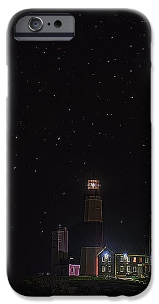Montauk Starry Night iPhone Case by William Jobes
