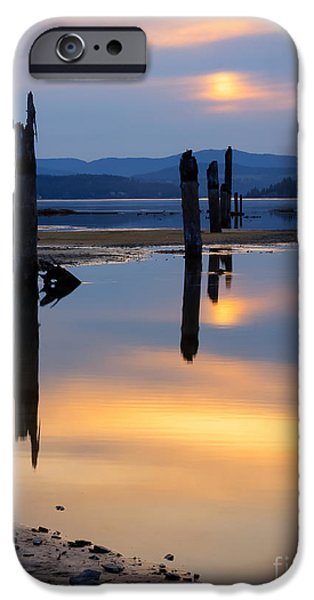 Mood on the Bay iPhone Case by Idaho Scenic Images Linda Lantzy