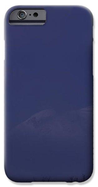 Moon At Dawn iPhone Case by Yuichi Takasaka
