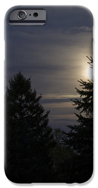 Moon Rising 01 iPhone Case by Thomas Woolworth
