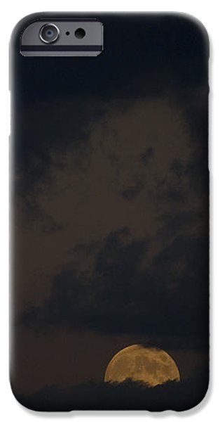Moon Rising 03 iPhone Case by Thomas Woolworth