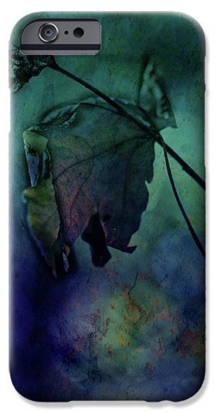 Tree Art Print Mixed Media iPhone Cases - Moonlight Serenade iPhone Case by Bonnie Bruno