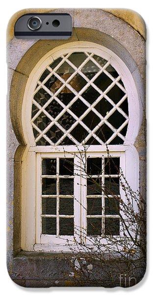 Moorish Window iPhone Case by Carlos Caetano